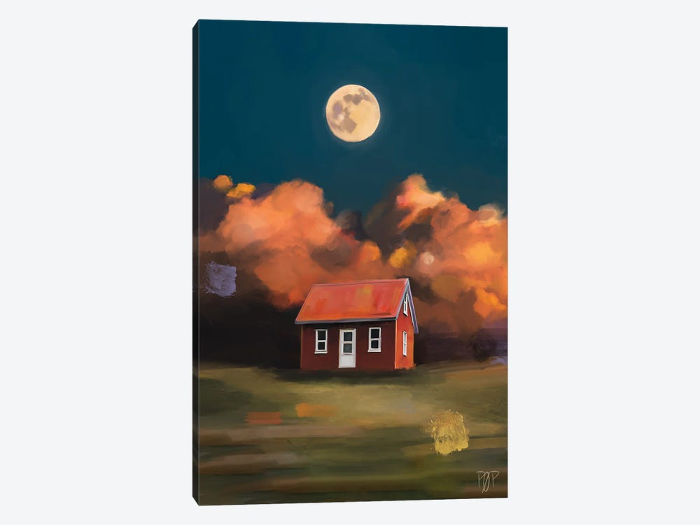 House VI by Petur Orn 1-piece Art Print