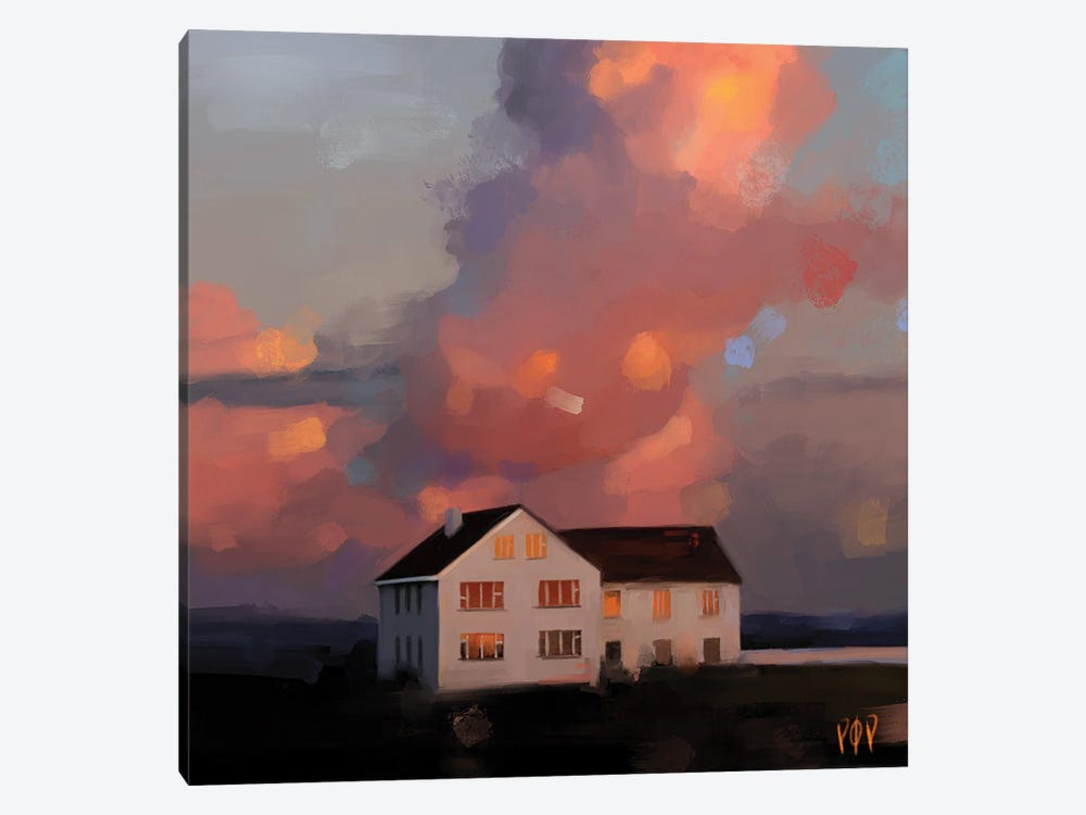 House VIII by Petur Orn 1-piece Canvas Print
