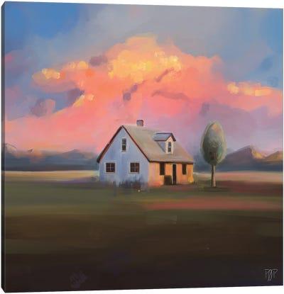 House IX Canvas Art Print