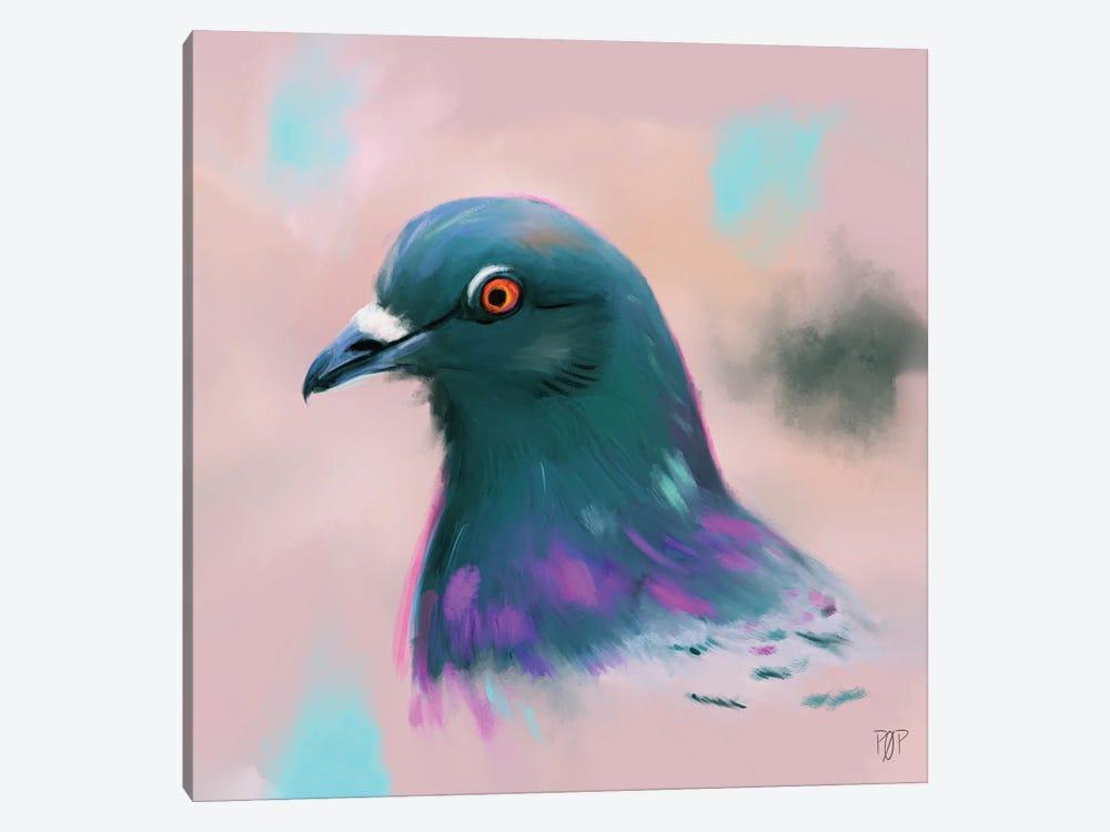 Pigeon by Petur Orn 1-piece Canvas Artwork