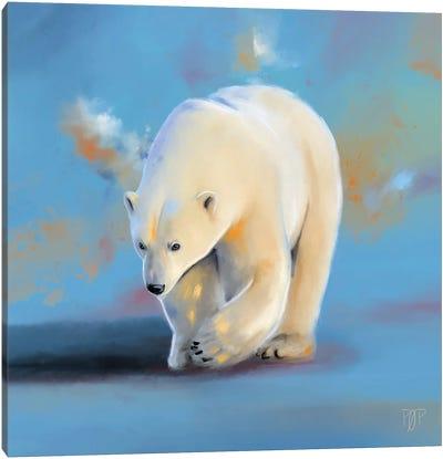 Polar Bear I Canvas Art Print
