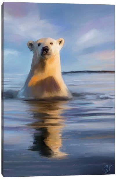 Polar Bear II Canvas Art Print