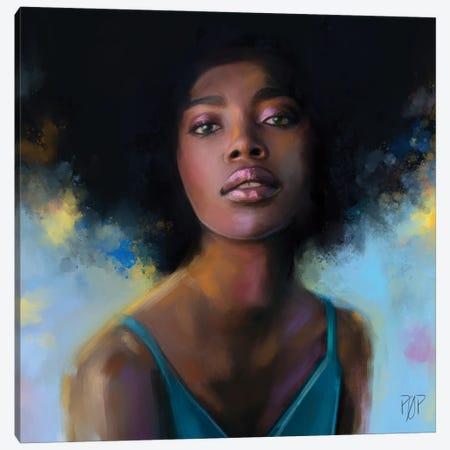 Portrait I Canvas Print #POR19} by Petur Orn Canvas Artwork