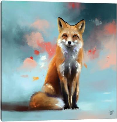 Red Fox 1 Canvas Art Print