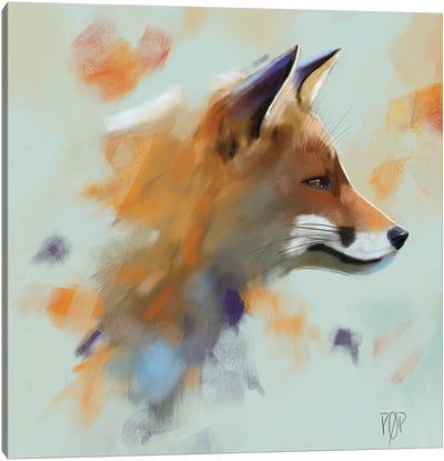 Red Fox II Canvas Art Print