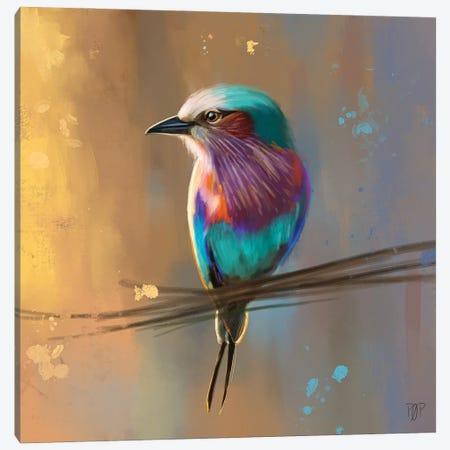Small Bird I Canvas Print #POR25} by Petur Orn Canvas Art