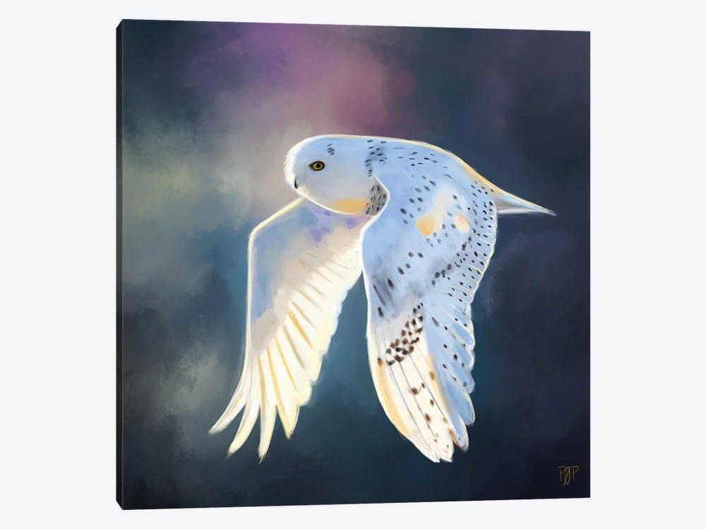 Snowy Owl I by Petur Orn 1-piece Art Print