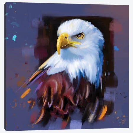 Bald Eagle I Canvas Print #POR3} by Petur Orn Canvas Art