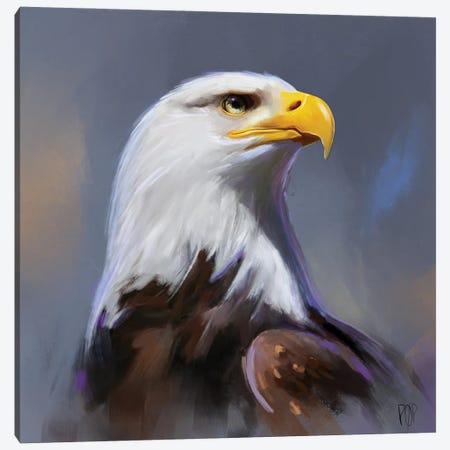 Bald Eagle II Canvas Print #POR4} by Petur Orn Canvas Art Print