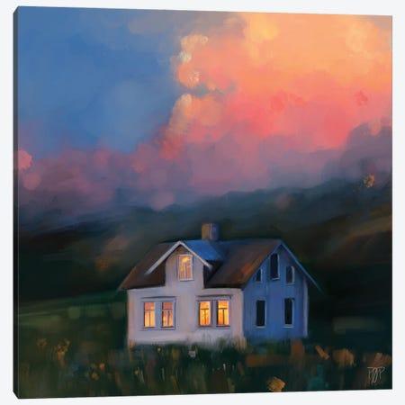 House I Canvas Print #POR6} by Petur Orn Art Print