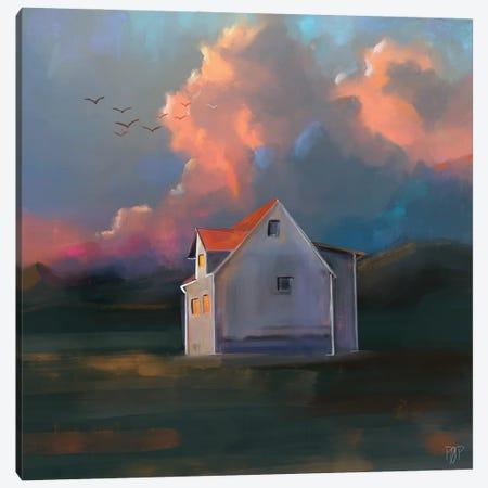 House II Canvas Print #POR7} by Petur Orn Art Print