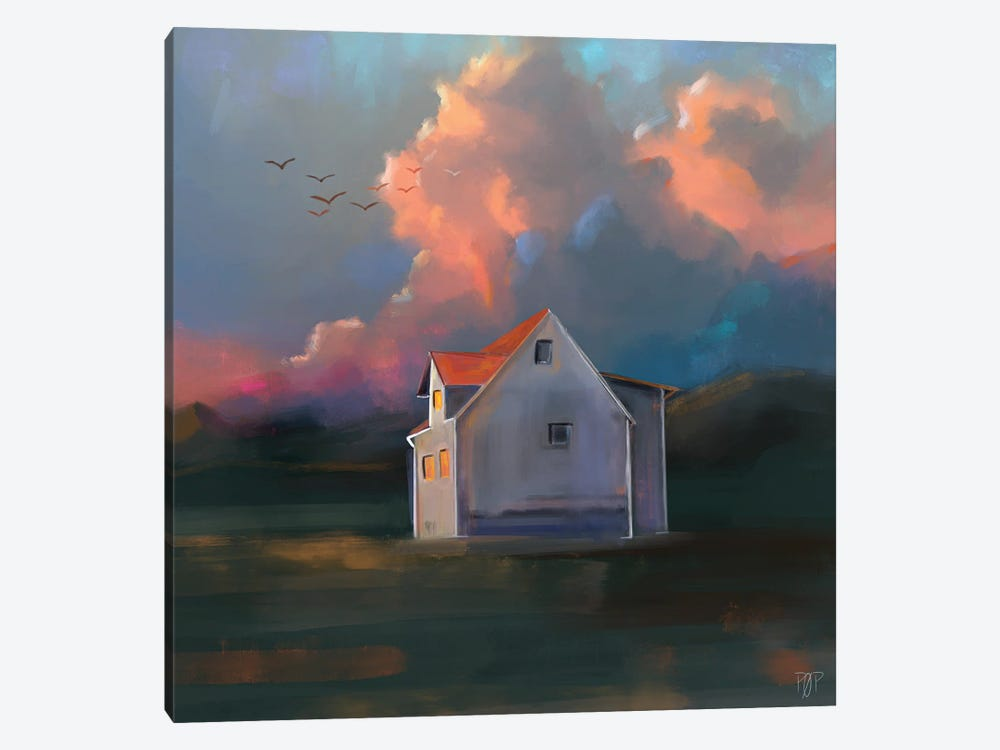 House II by Petur Orn 1-piece Canvas Wall Art