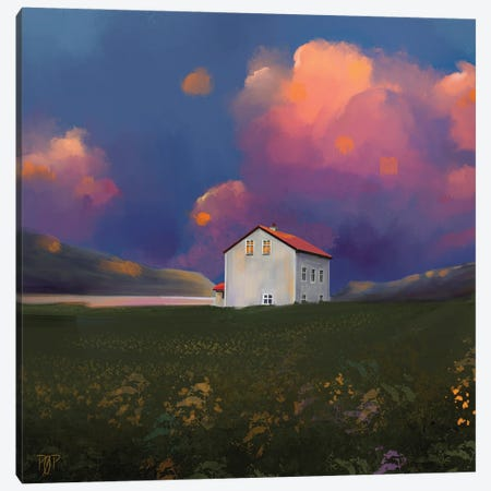 House III Canvas Print #POR8} by Petur Orn Canvas Artwork