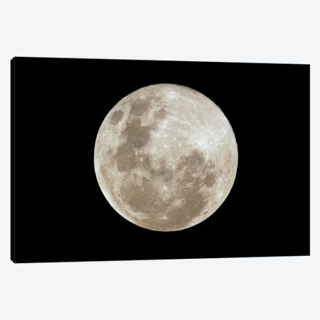 Full Moon, South America Canvas Print #POX19} by Pete Oxford Canvas Art