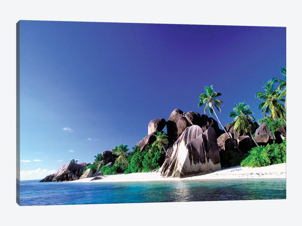 Anse Source d'Argent, La Digue, Republic Of Seychelles by Pete Oxford 1-piece Canvas Wall Art