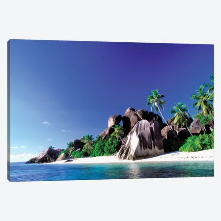 Anse Source d'Argent, La Digue, Republic Of Seychelles Canvas Print #POX1} by Pete Oxford Canvas Wall Art
