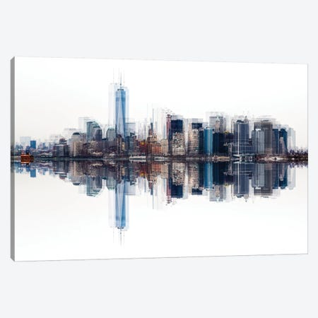 Nyc Canvas Print #PPF4} by Peter Pfeiffer Canvas Print