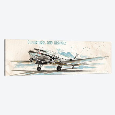 Departures & Arrivals Canvas Print #PPI102} by Patricia Pinto Canvas Print