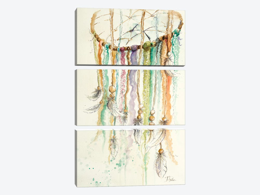 Dream Catcher II by Patricia Pinto 3-piece Canvas Wall Art