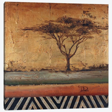 African Dream II Canvas Print #PPI10} by Patricia Pinto Canvas Art
