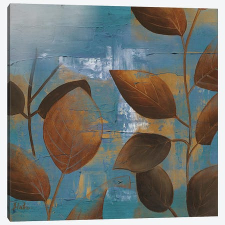 Eco Blue II Canvas Print #PPI110} by Patricia Pinto Canvas Artwork