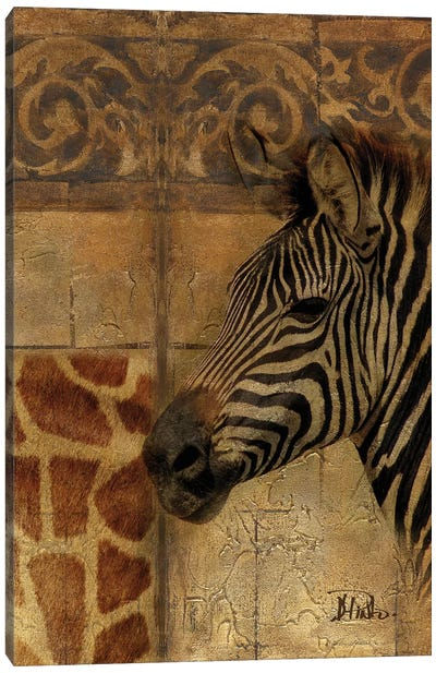 Elegant Safari I (Zebra) Canvas Art Print