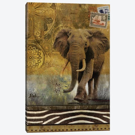 Expedition I Canvas Print #PPI119} by Patricia Pinto Canvas Wall Art