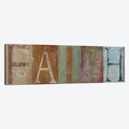 FAITH Canvas Print #PPI121} by Patricia Pinto Canvas Print