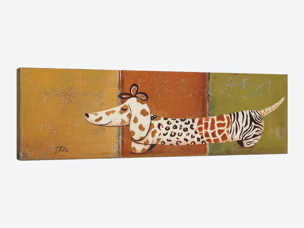 Fashion Puppy I by Patricia Pinto 1-piece Art Print