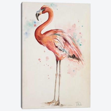 Flamingo I Canvas Print #PPI127} by Patricia Pinto Canvas Art