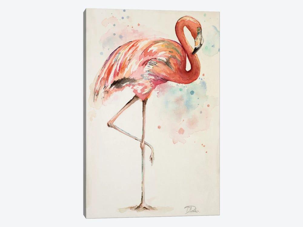 Flamingo II by Patricia Pinto 1-piece Canvas Artwork