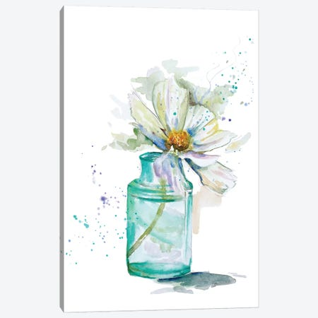 Fresh Little Flower I Canvas Print #PPI132} by Patricia Pinto Canvas Art