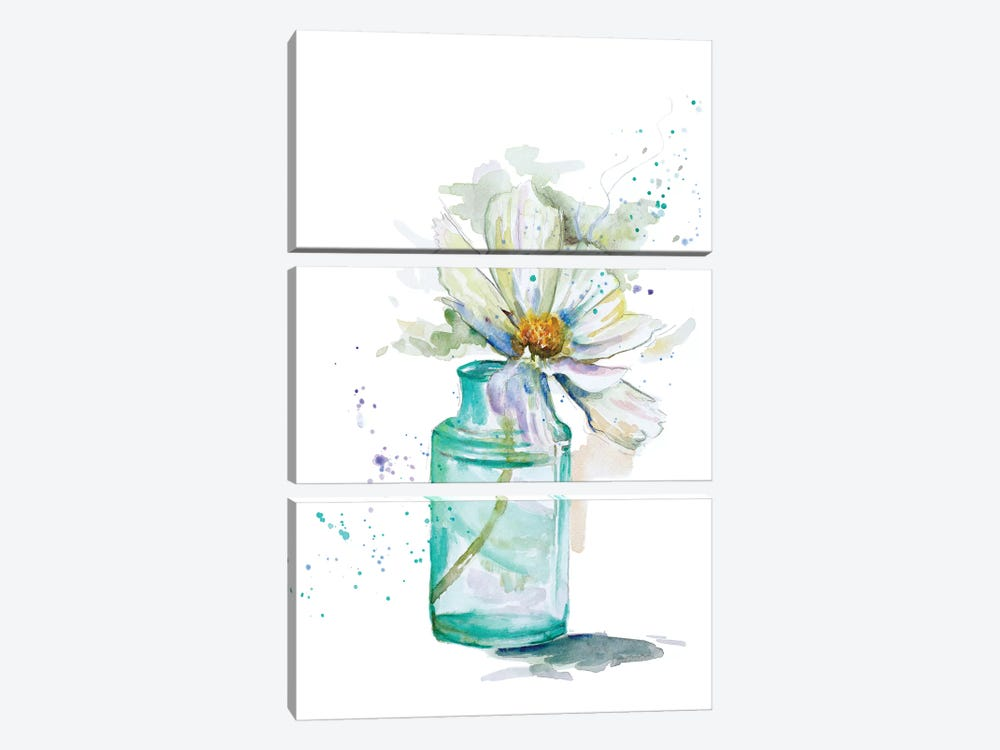 Fresh Little Flower I by Patricia Pinto 3-piece Art Print