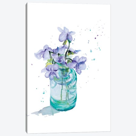 Fresh Little Flower II Canvas Print #PPI133} by Patricia Pinto Canvas Wall Art