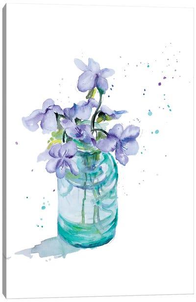 Fresh Little Flower II Canvas Art Print