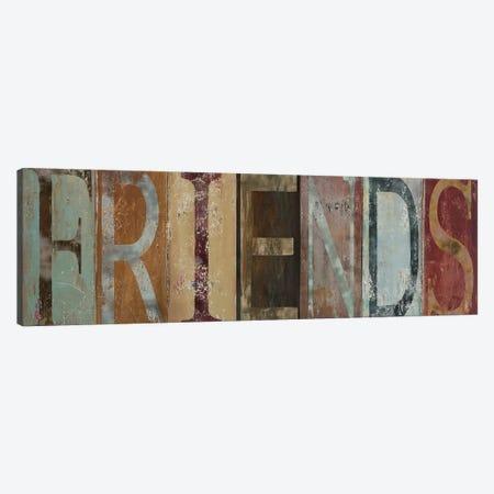 FRIENDS Canvas Print #PPI135} by Patricia Pinto Art Print