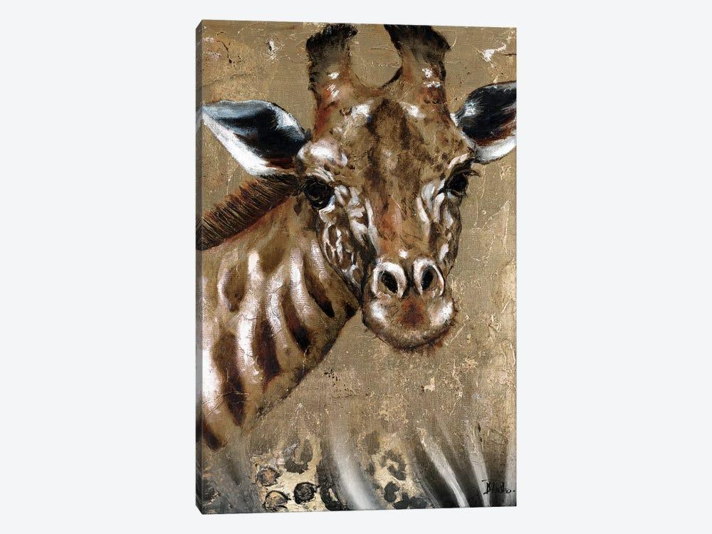 Giraffe on Print by Patricia Pinto 1-piece Art Print