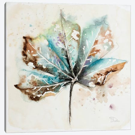 Global Leaves I Canvas Print #PPI139} by Patricia Pinto Canvas Artwork