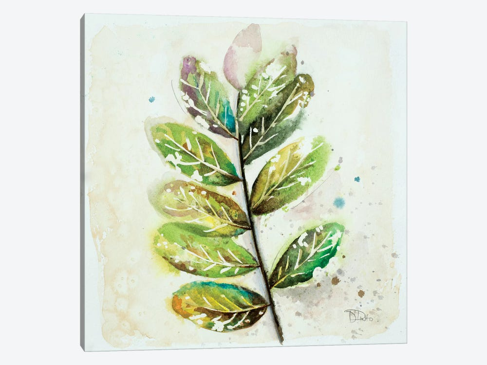 Global Leaves III by Patricia Pinto 1-piece Canvas Art Print