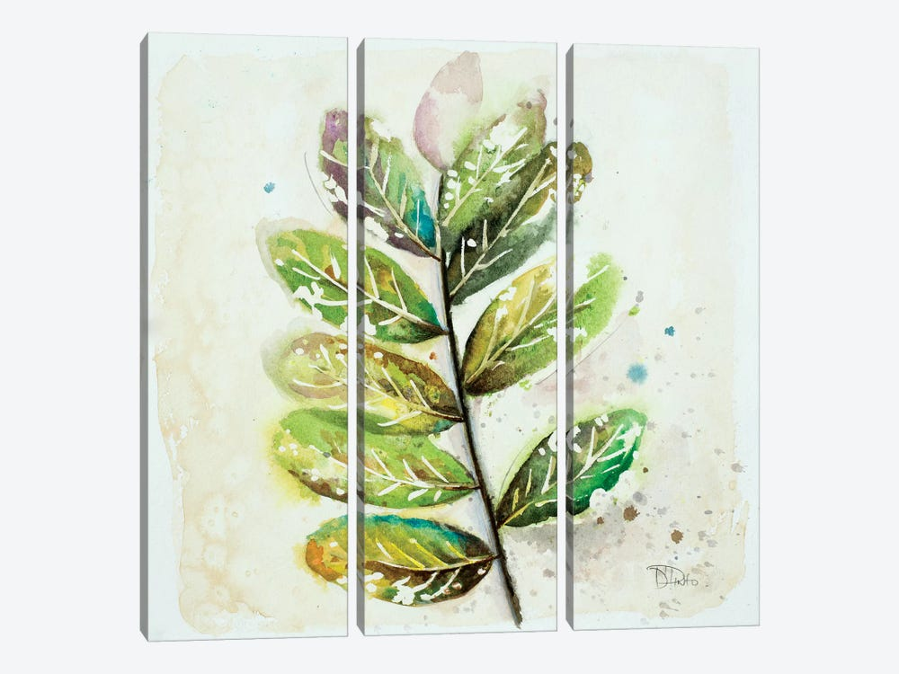 Global Leaves III by Patricia Pinto 3-piece Canvas Art Print