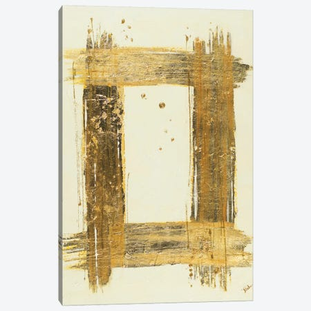 Gold Rectangle Canvas Print #PPI152} by Patricia Pinto Canvas Art