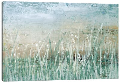 Grass Memories Canvas Art Print