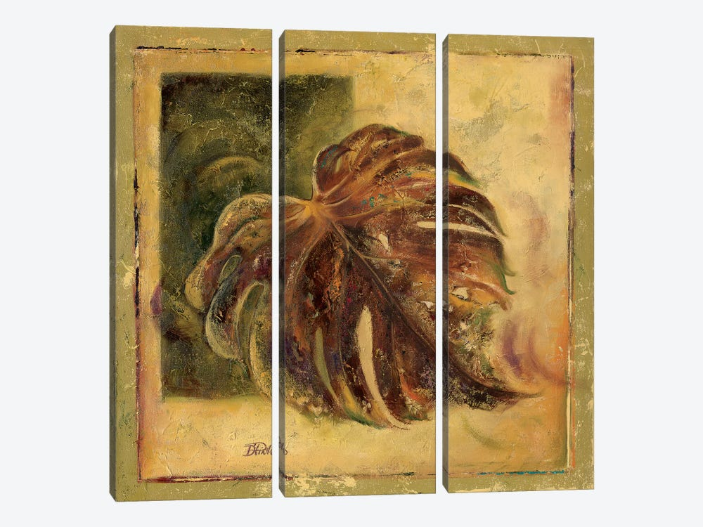 Green Balazo I by Patricia Pinto 3-piece Canvas Art