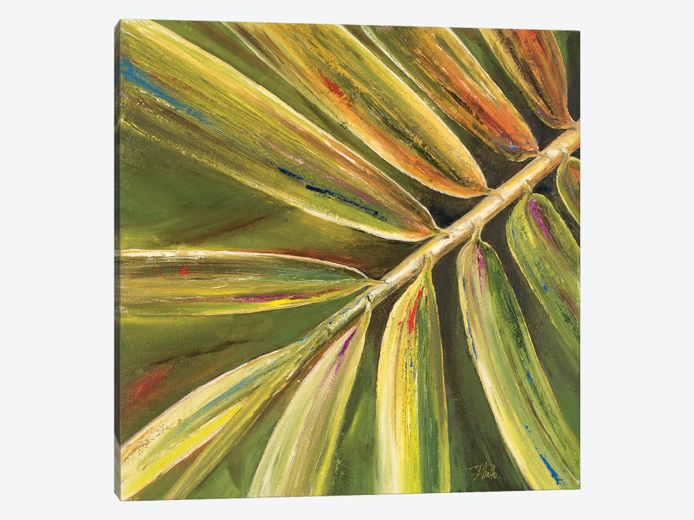 Green Close Up II by Patricia Pinto 1-piece Canvas Artwork