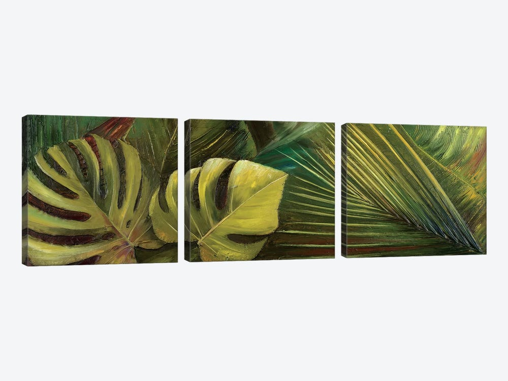 Green for Ever I by Patricia Pinto 3-piece Art Print