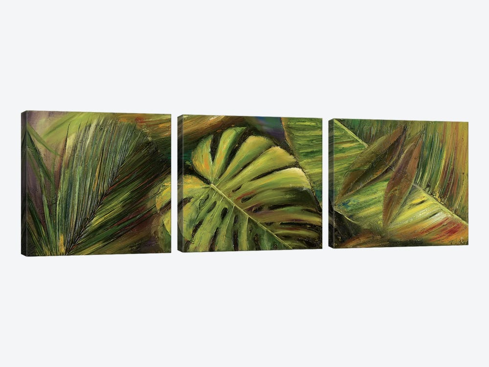 Green for Ever II by Patricia Pinto 3-piece Canvas Artwork