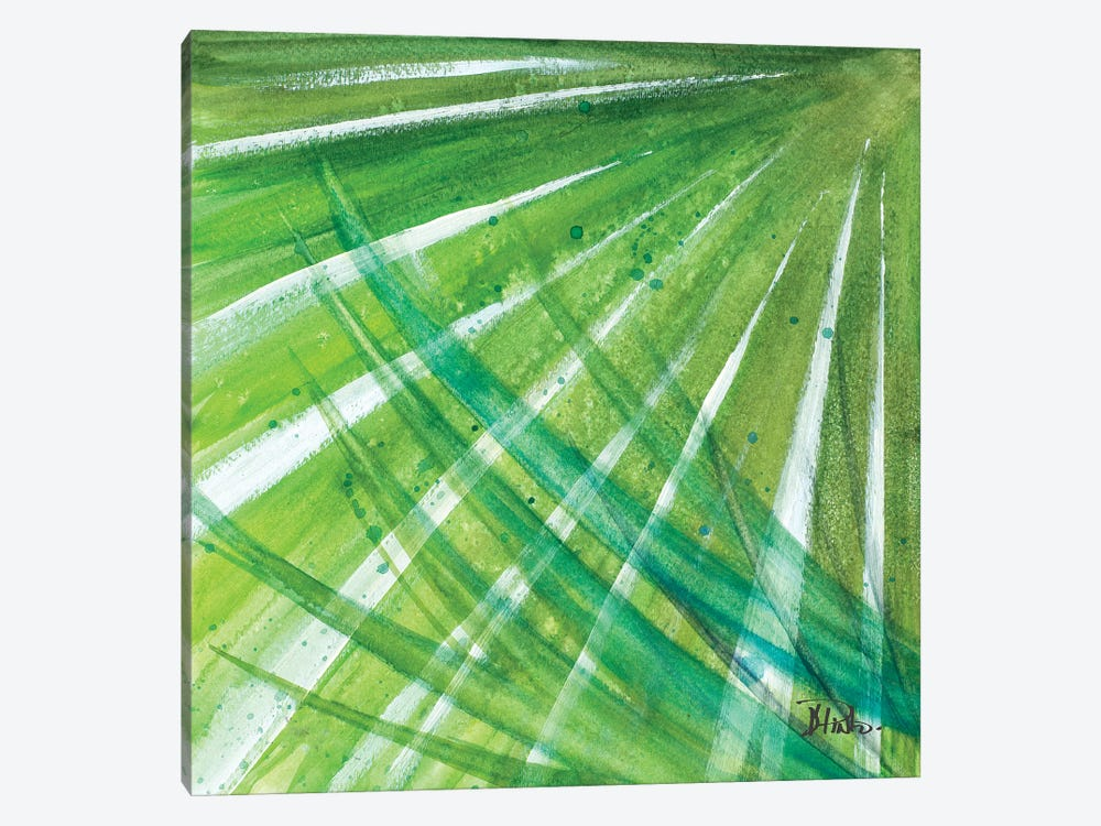 Green Palms II by Patricia Pinto 1-piece Canvas Print