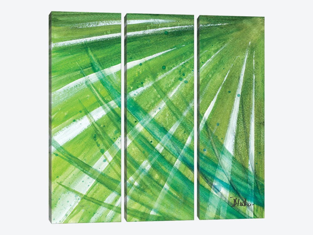 Green Palms II by Patricia Pinto 3-piece Art Print