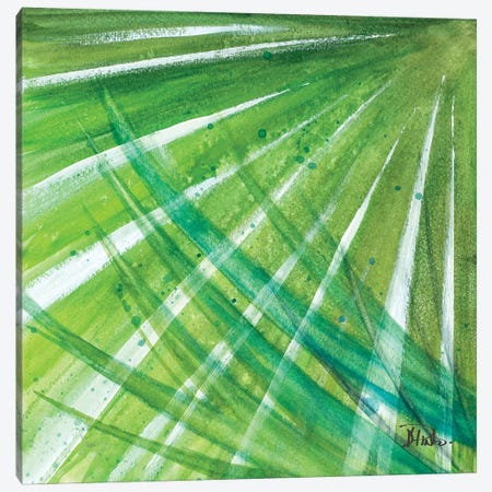 Green Palms II 3-Piece Canvas #PPI165} by Patricia Pinto Canvas Artwork