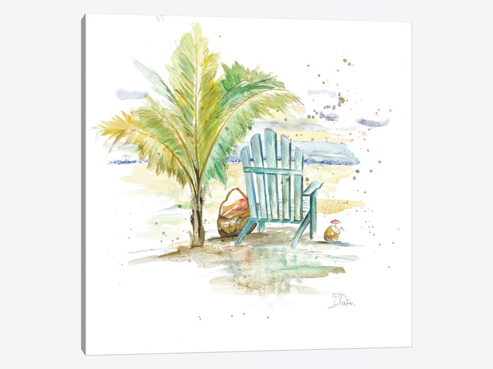 Happy Place II by Patricia Pinto 1-piece Canvas Artwork